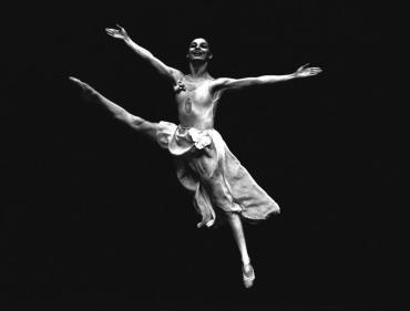 A bailarina Tatiana