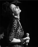 Tatiana em show da Sonora parceria